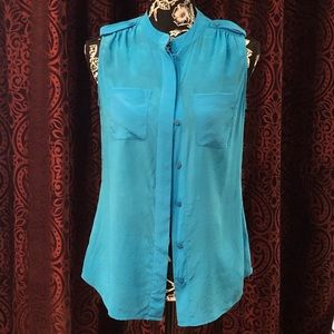 Pretty 100% silk blouse